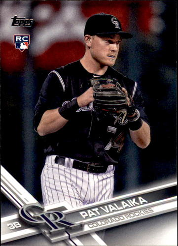 Photo of 2017 Topps #415 Pat Valaika Rookie Card