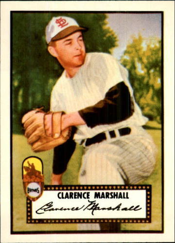 Photo of 1983 Topps 1952 Reprint #174 Clarence Marshall