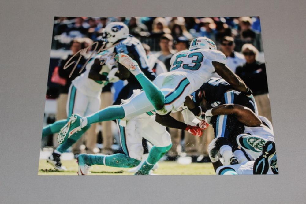 Dolphins - Jelani Jenkins signed Dolphins 8x10 photo