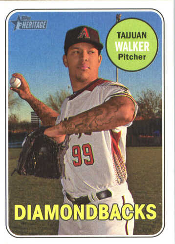 Photo of 2018 Topps Heritage #193 Taijuan Walker