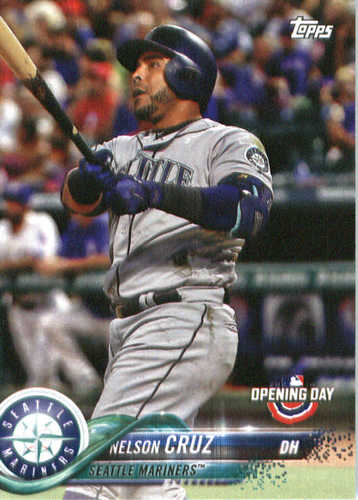 Photo of 2018 Topps Opening Day #91 Nelson Cruz
