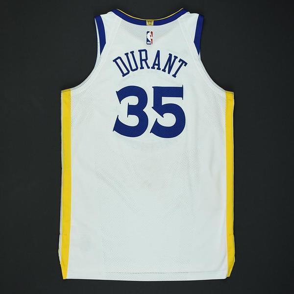 086e049f5 Kevin Durant - Golden State Warriors - 2018 NBA Playoffs Game-Worn ...