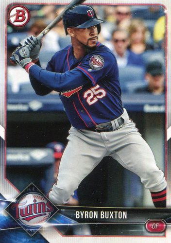 Photo of 2018 Bowman #54 Byron Buxton