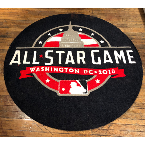 Photo of 2018 MLB All-Star Game - American League Game-Used On-Deck Circle