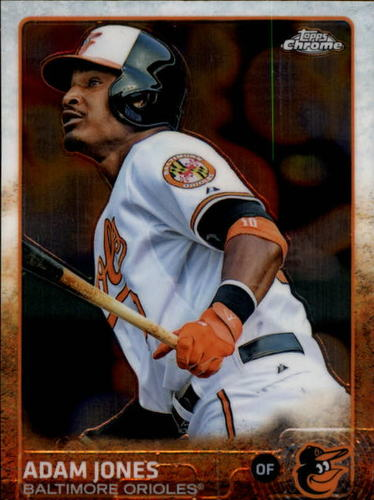 Photo of 2015 Topps Chrome #7 Adam Jones