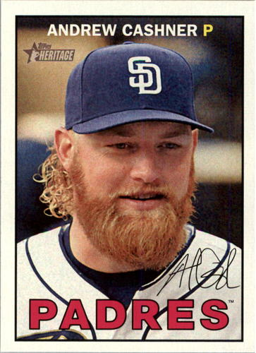 Photo of 2016 Topps Heritage #103 Andrew Cashner