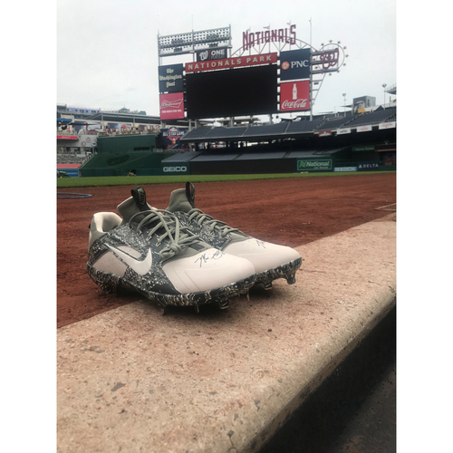 Photo of Max Scherzer Autographed Cleats