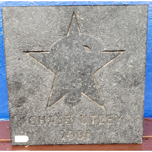 Photo of Chase Utley Ashburn Alley 2008 All-Star Paver