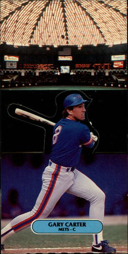 Photo of 1987 Donruss Pop-Ups #19 Gary Carter
