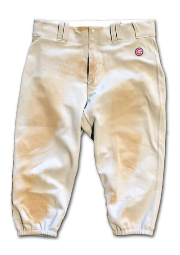 Photo of Kyle Schwarber Team-Issued Pants -- 2019 Season