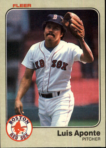 Photo of 1983 Fleer #178 Luis Aponte