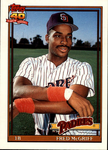 Photo of 1991 Topps Traded #77T Fred McGriff