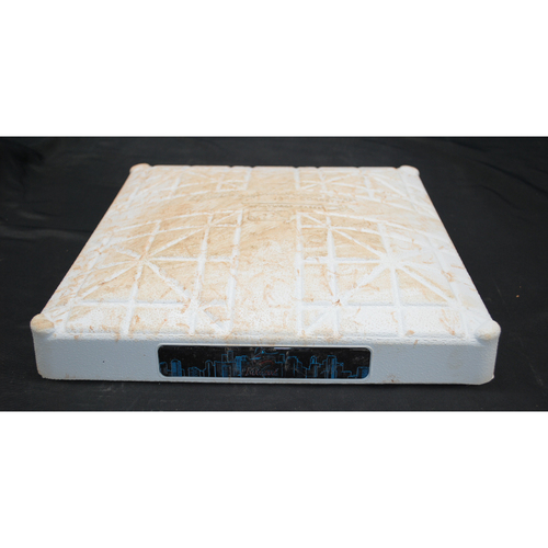 Photo of Game-Used Base: Dodgers @ Marlins - 1st Base, 1st - 3rd Innings - August 15, 2019