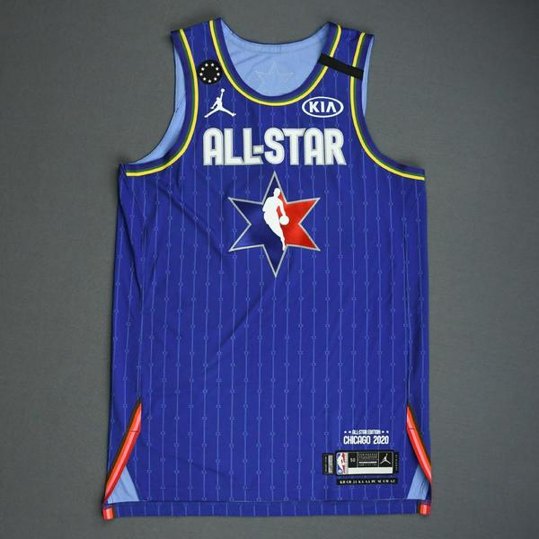 Image of JamesHarden - 2020 NBA All-Star - Game-Worn Jersey Charity Auction - Team LeBron - 1st and 2nd Quarter