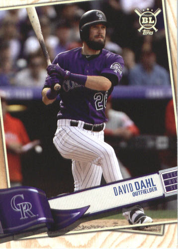 Photo of 2019 Topps Big League #143 David Dahl