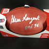 HOF - Seahawks Steve Largent Signed Authentic Football W/ 100 Seasons Logo