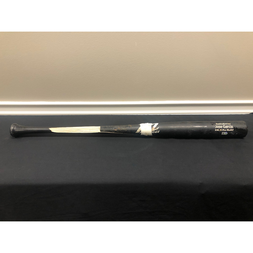 Jose Garcia -- Team-Issued Broken Bat -- 2020 Season
