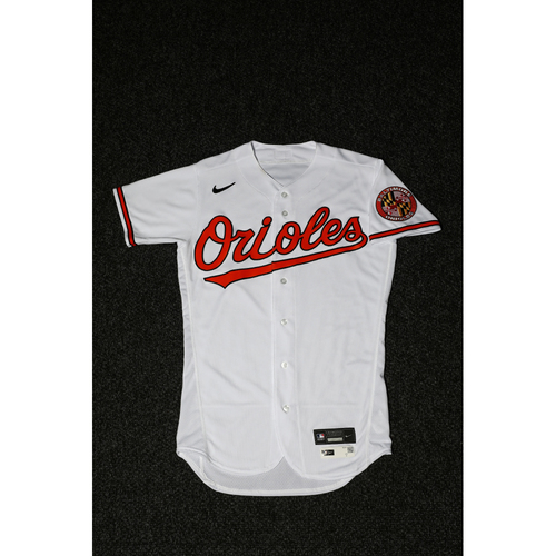 Photo of Brandon Hyde - Opening Day Home Jersey - Game Used