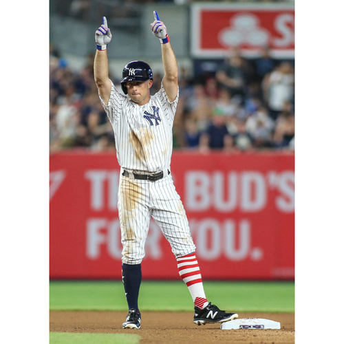 Photo of LOT #104: Memorable Moment: New York Yankees Great Brett Gardner Personalized Special Recorded Video Message