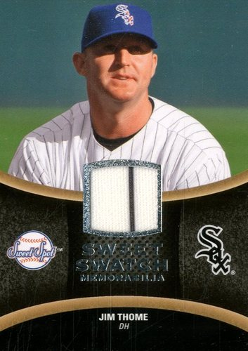 Photo of 2008 Sweet Spot Swatches #SJT Jim Thome