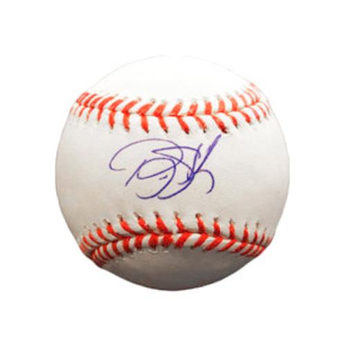 Bubba Starling Autographed Baseball