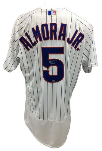 Photo of Albert Almora Jr. Autographed Jersey: Size - 48
