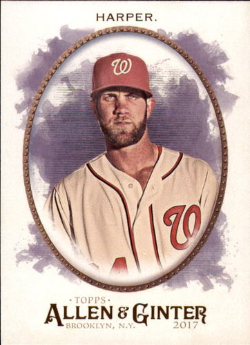 Photo of 2017 Topps Allen and Ginter #50 Bryce Harper