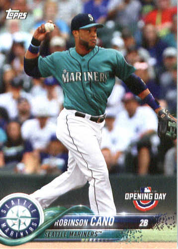 Photo of 2018 Topps Opening Day #92 Robinson Cano