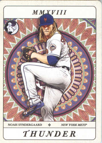 Photo of 2018 Topps Gypsy Queen Tarot of the Diamond #TOD17 Noah Syndergaard