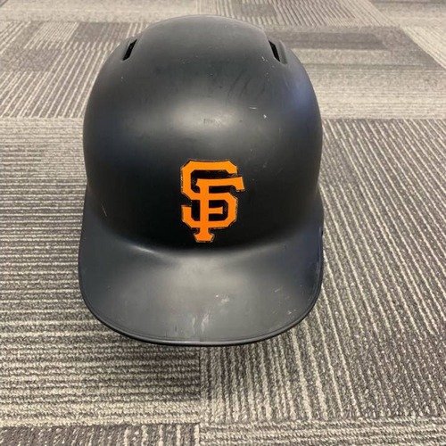 Photo of End of Year Auction - 2018 Game Used Batting Helmet worn by #37 Kelby Tomlinson - size 7 1/4