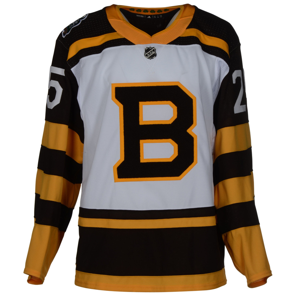 Brandon Carlo Boston Bruins Game-Worn 2019 NHL Winter