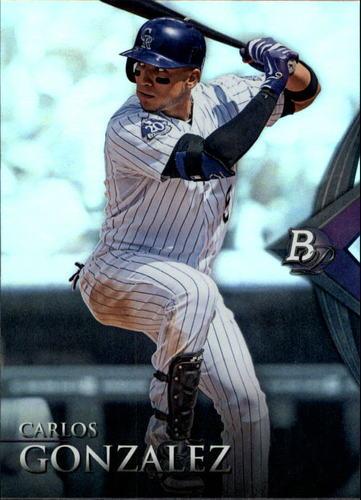 Photo of 2014 Bowman Platinum #39 Carlos Gonzalez
