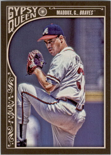 Photo of 2015 Topps Gypsy Queen #138 Greg Maddux