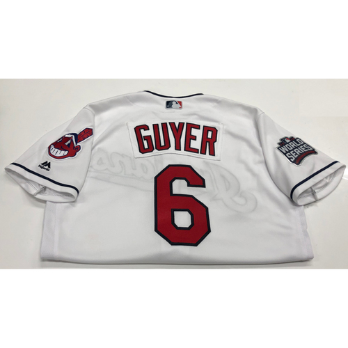 Photo of Brandon Guyer Team Issued 2016 World Series Jersey