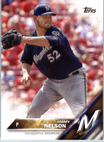 Photo of 2016 Topps #690 Jimmy Nelson
