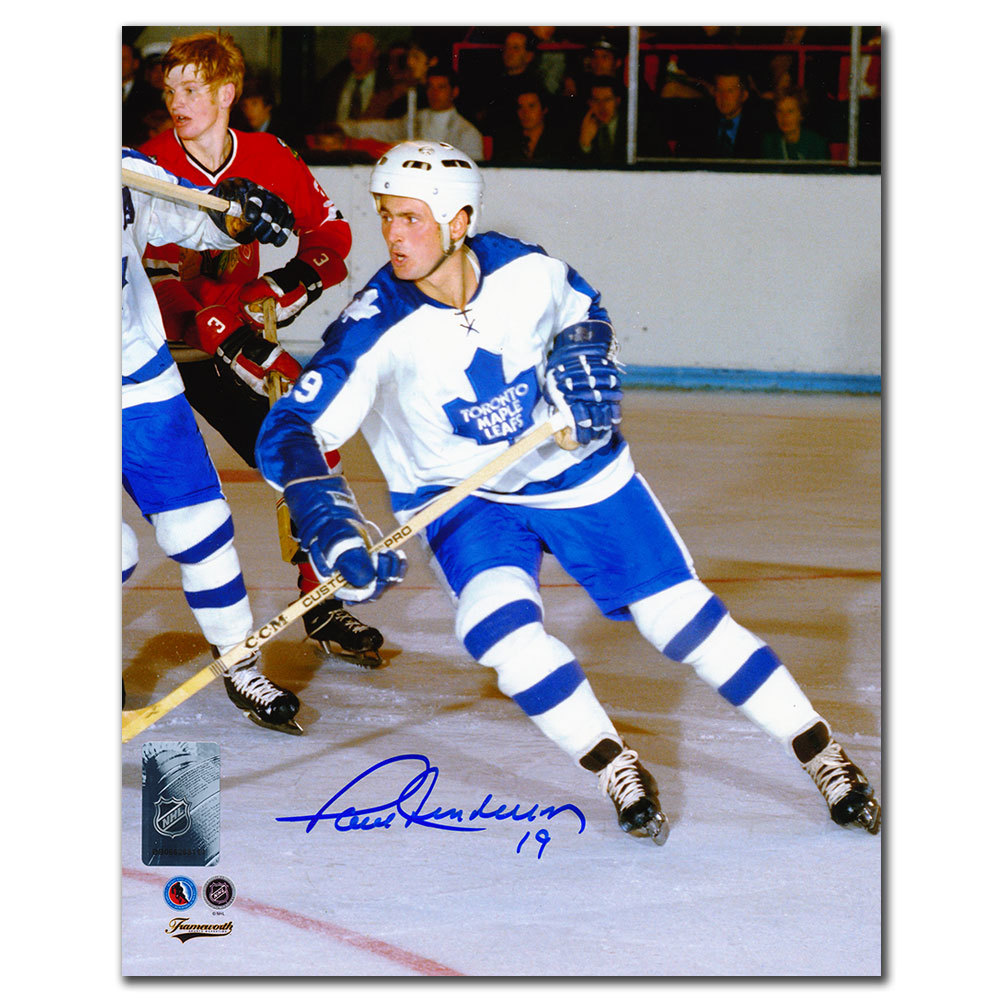 Paul Henderson Toronto Maple Leafs Autographed 8x10