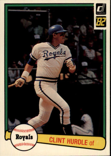 Photo of 1982 Donruss #516 Clint Hurdle