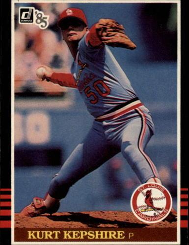 Photo of 1985 Donruss #382 Kurt Kepshire