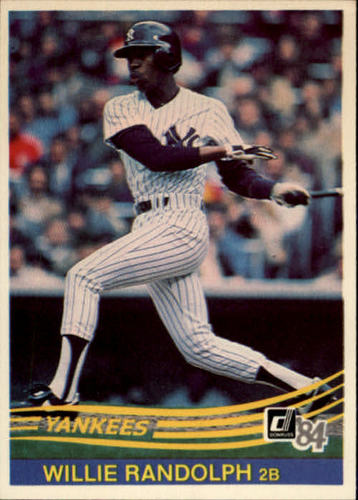 Photo of 1984 Donruss #417 Willie Randolph