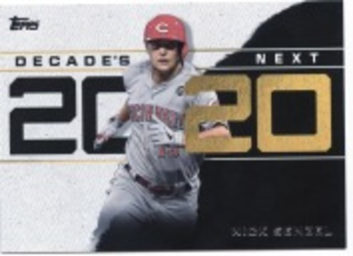Photo of 2020 Topps Decade's Next #DN15 Nick Senzel