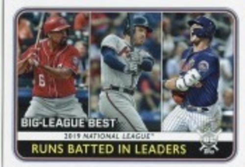 Photo of 2020 Topps Big League #244 Freddie Freeman/Pete Alonso/Anthony Rendon LL