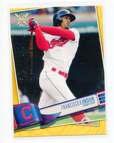 Photo of 2019 Topps Big League Gold #267 Francisco Lindor