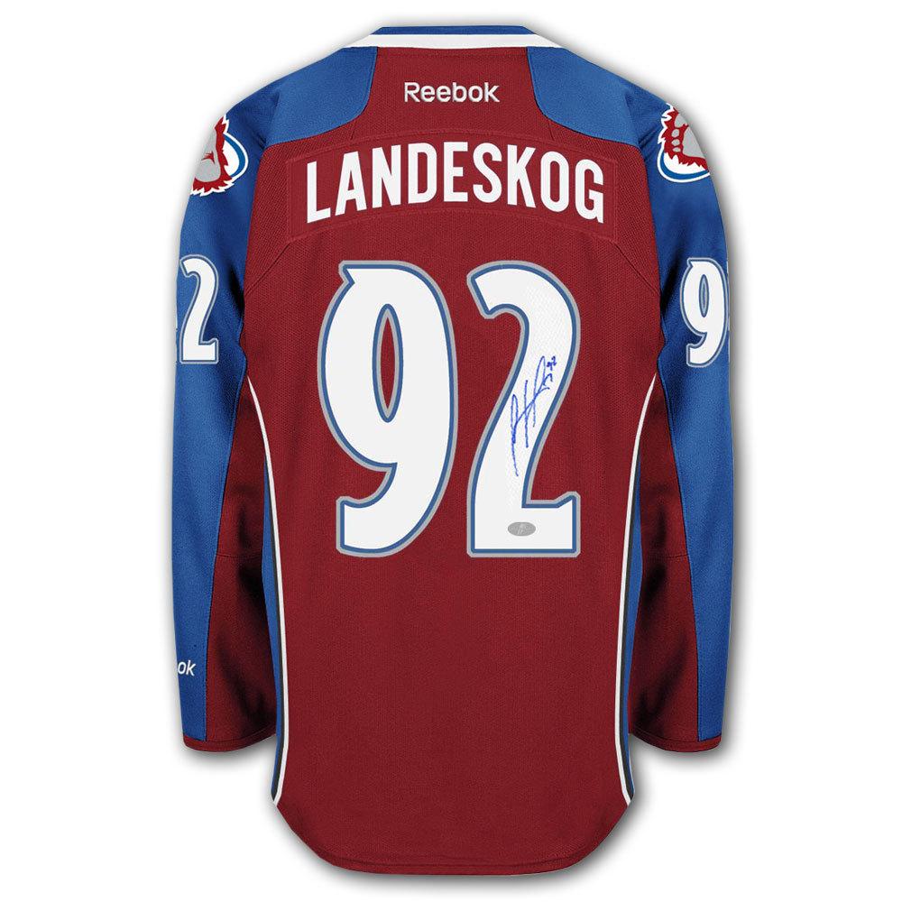 Gabriel Landeskog Colorado Avalanche RBK Premier Autographed Jersey