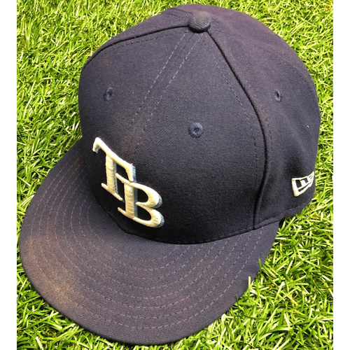 Photo of Team Issued TB Cap: Brandon Lowe #8