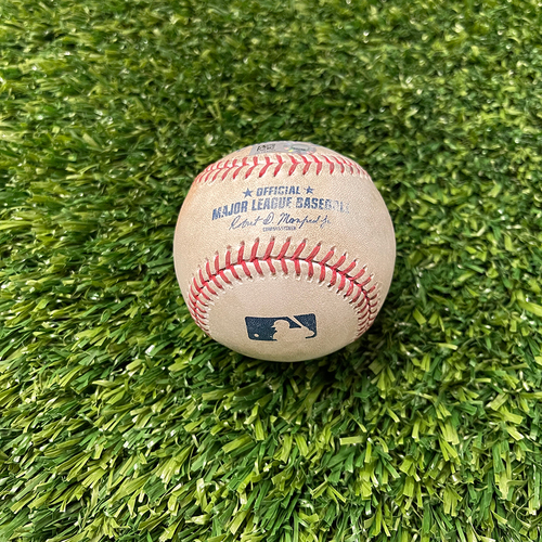 Photo of 2021 Minnesota Twins Game-Used Baseball (April) - PRESALE: Choose your Game Date!