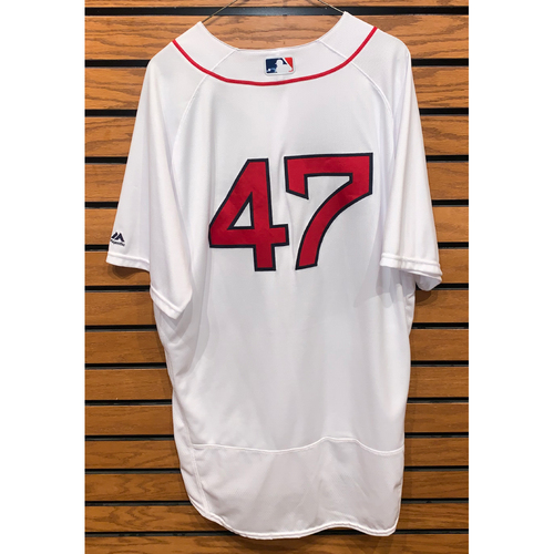 Photo of Travis Shaw Team Issued 2016 Home Jersey