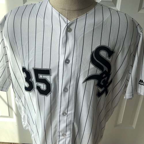 UMPS CARE AUCTION: Frank Thomas Chicago White Sox Signed Jersey, Size 52