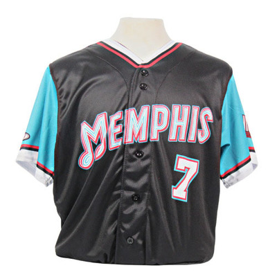 Evan Mendoza Autographed Game-Worn 2021 Grizzlies-themed Jersey