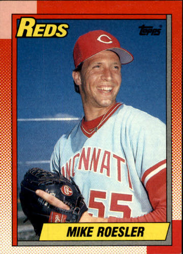 Photo of 1990 Topps #203 Mike Roesler RC