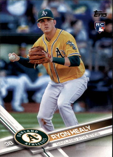 Photo of 2017 Topps #53 Ryon Healy RC